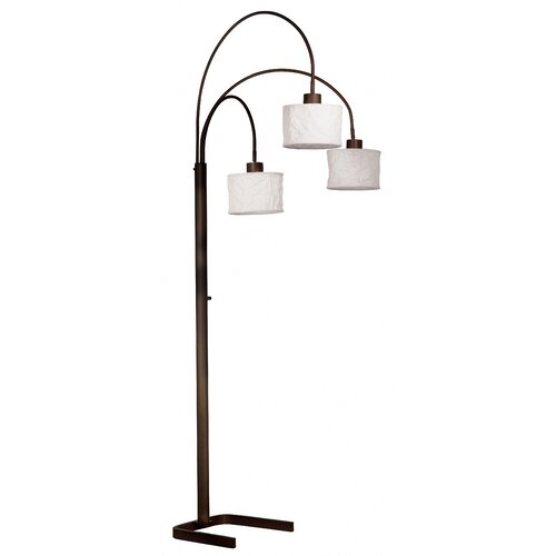 Wildon Home ® Crush Arc Floor Lamp