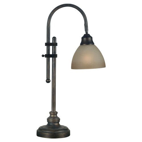 "Wildon Home ® Callahan 28"" H Table Lamp with Bowl Shade"