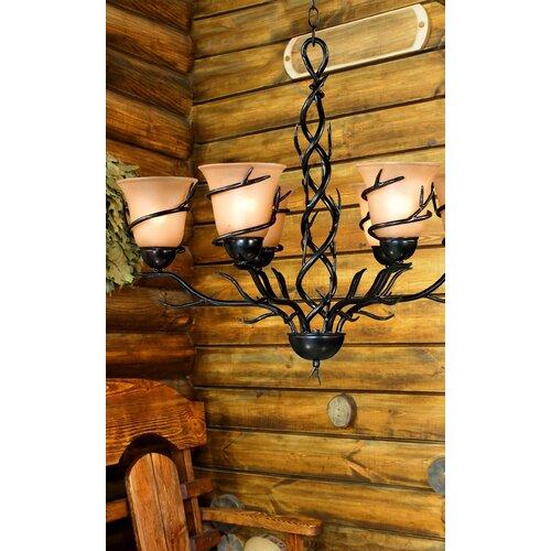 Wildon Home ® Peony 6 Light Chandelier