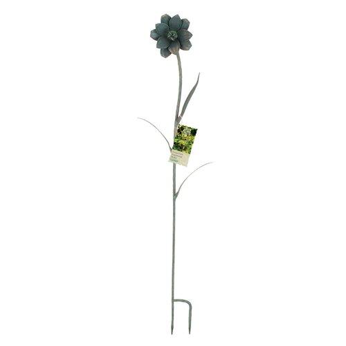 Metal Anemone Garden Stake