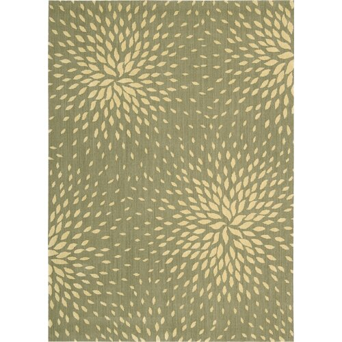 Nourison Capri Light Green Rug