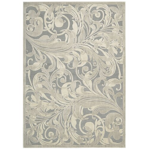 Graphic Illusions Grey/Camel Rug