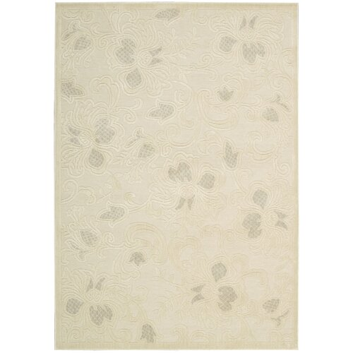 Nourison Graphic Illusions Cream Rug