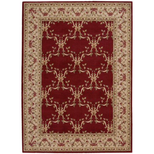 Ashton House Burgundy Rug