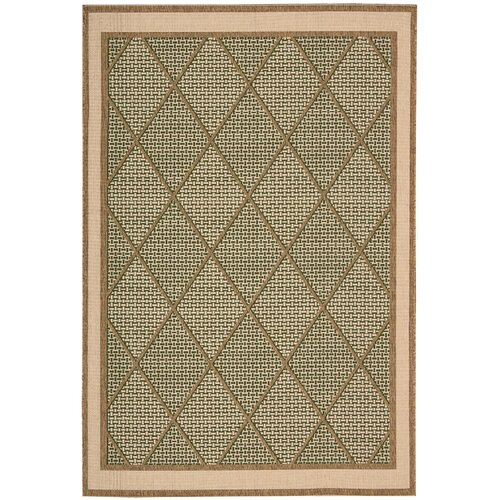 Eclipse Green Outdoor Rug