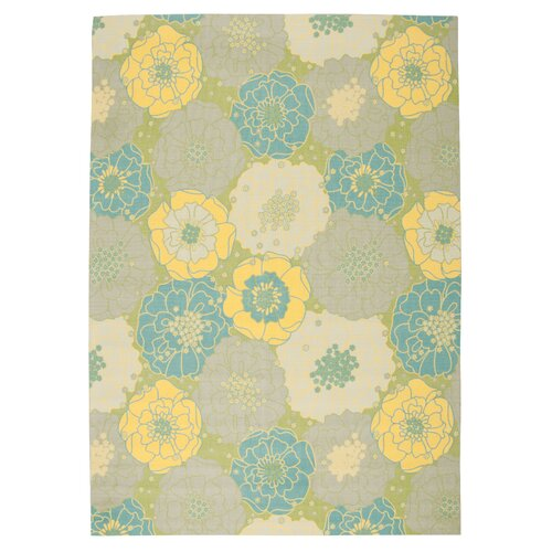 Home and Garden Green Rug
