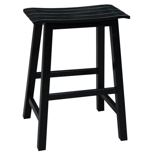 International Concepts Slat Seat 23 Quot Bar Stool Amp Reviews