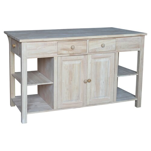 kitchen islands amp carts wayfair miniature 1 12 scale french provincial sink kitchen island