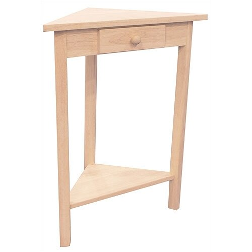 International Concepts Corner Side Table Reviews Wayfair