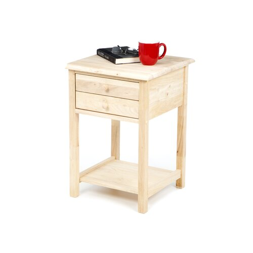 International Concepts Wood End Table