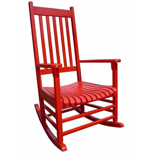 International Concepts Somer Hunter Rocking Chair