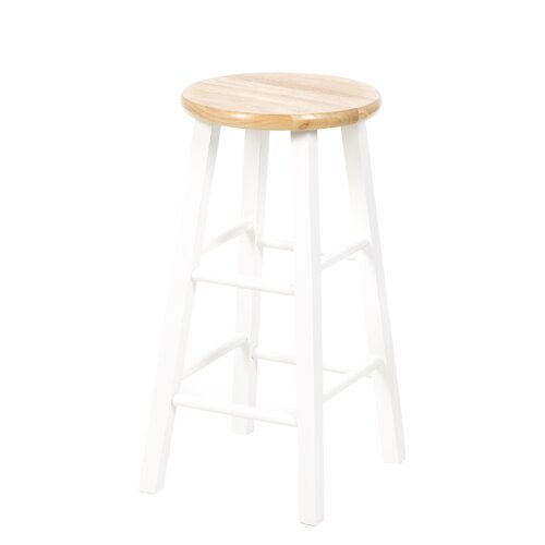 "International Concepts Roundtop 24"" Bar Stool"