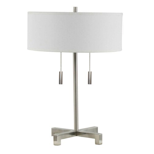 Fangio Pull 20 Quot H Table Lamp With Drum Shade Amp Reviews