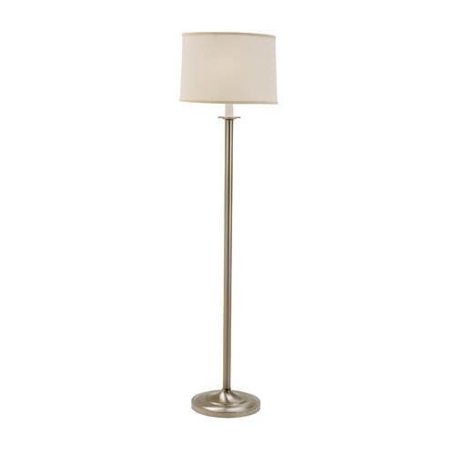 Fangio Lighting Floor Lamp with Hardback Shade
