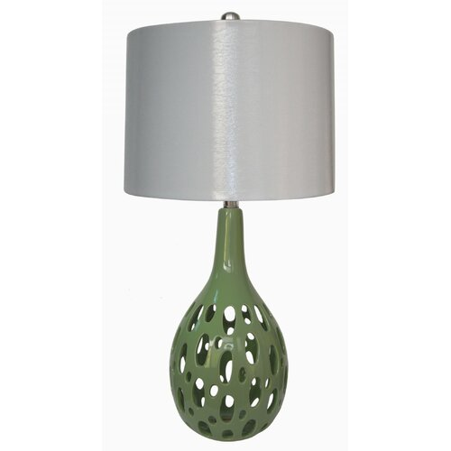 "Fangio Lighting 28"" H Table Lamp with Bowl Shade"