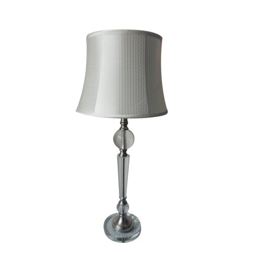 "Fangio Lighting 28"" H Table Lamp with Bell Shade"