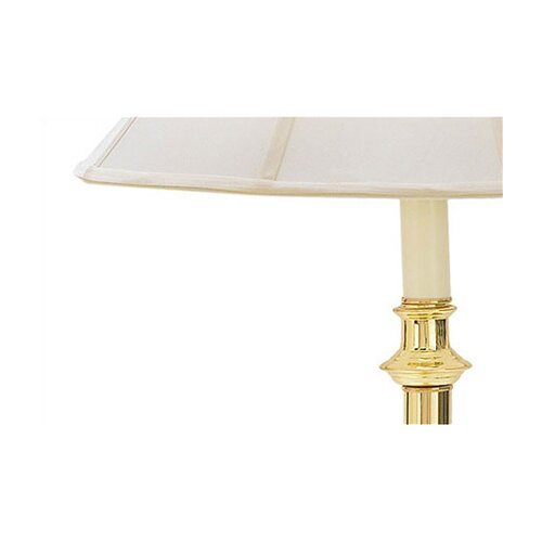 fangio floor lamp with glass tray table reviews wayfair supply. Black Bedroom Furniture Sets. Home Design Ideas