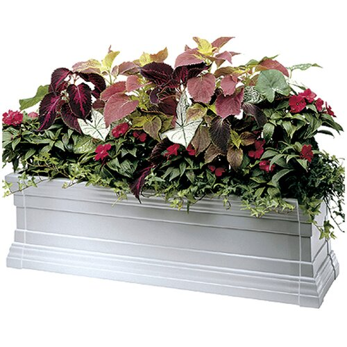 Novelty Windsor Rectangular Flower Box Planter with Brackets