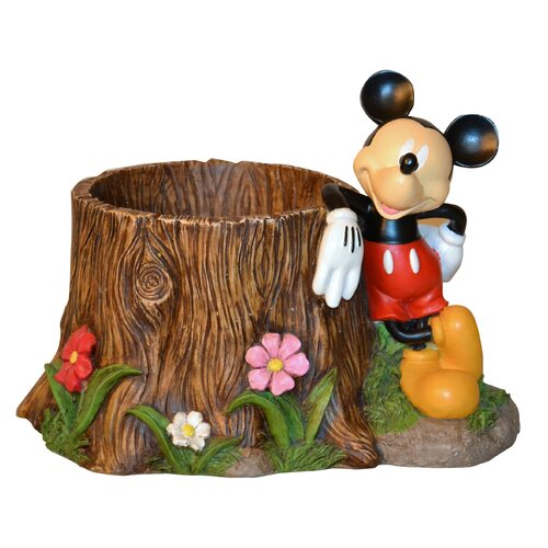 Woods International Disney Mickey Mouse Stump Planter