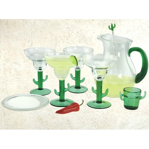 Cactus 8-Piece Margarita Set
