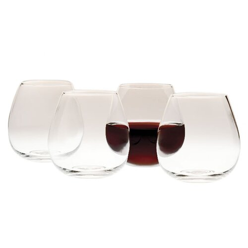 Sommelier Stemless Wine Glass (Set of 4)