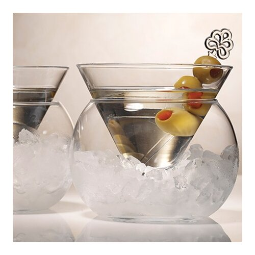 Artland Rockwell Small Stemless Martini Glass