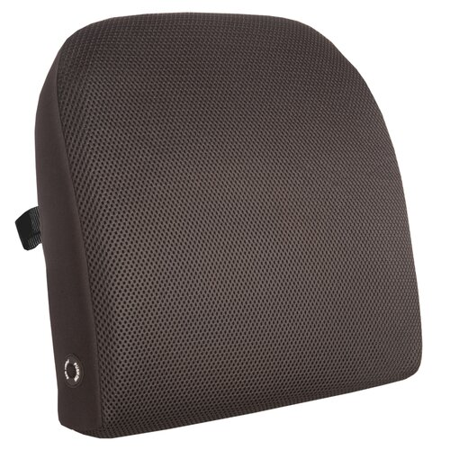 Relaxzen Memory Foam Lumbar Cushion with Massage