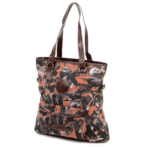 Going Places Fold Over Tote