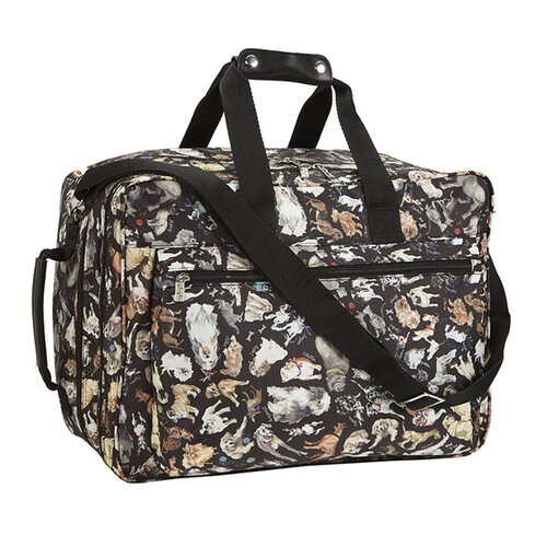 "Sydney Love Travel 18.25"" Cats and Dogs Carry-On Duffel"