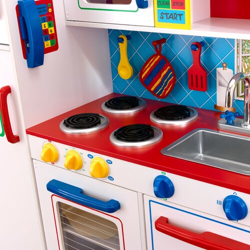 Kidkraft Deluxe Let 39 S Cook Kitchen Reviews Wayfair