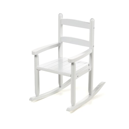Kid's 2-Slat Rocking Chair