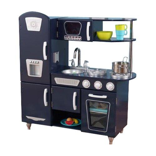 Kidkraft Vintage Kitchen In Blue 53227: KidKraft Blue Vintage Kitchen II & Reviews