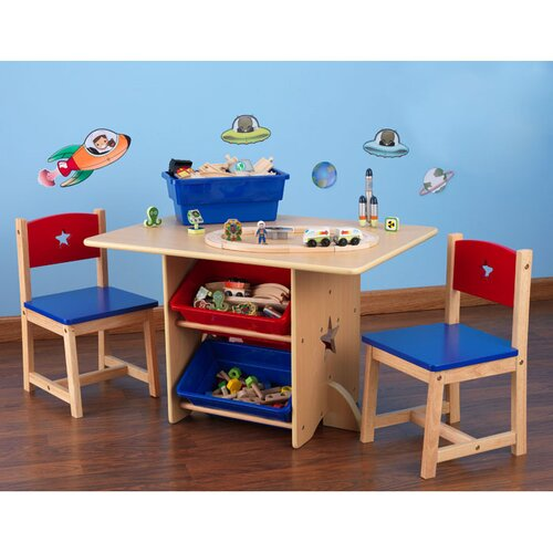 KidKraft Star Kid's 5 Piece Table & Chair Set