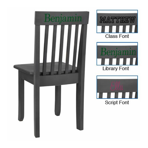 Personalized Avalon Chair in Gray