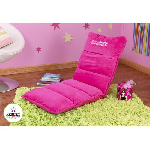 Personalized Adjustable Lounger in Hot Pink