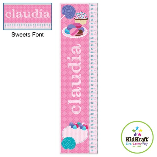 KidKraft Personalized Sweets Growth Chart