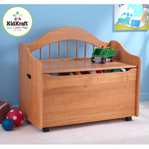 KidKraft Limited Edition Toy Box in Honey