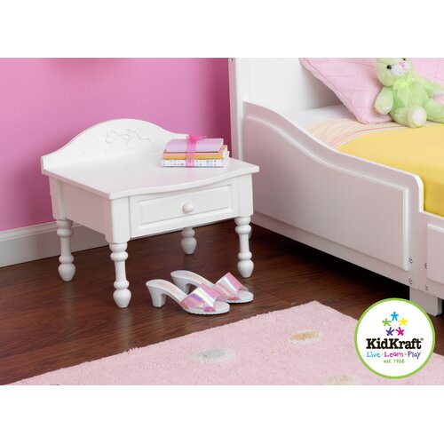 KidKraft Tiffany 1 Drawer Nightstand