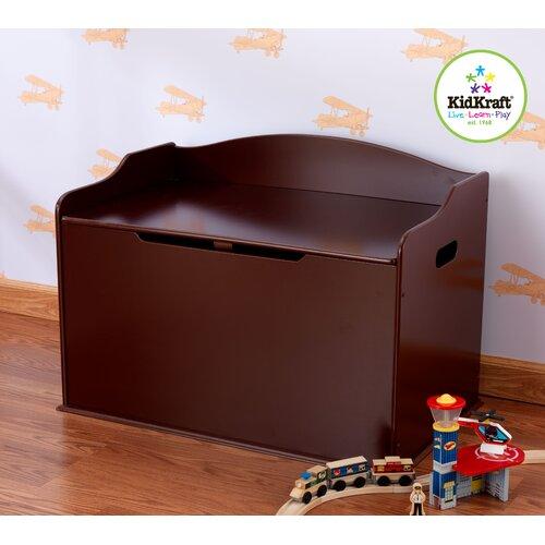 KidKraft Austin Toy Box in Cherry