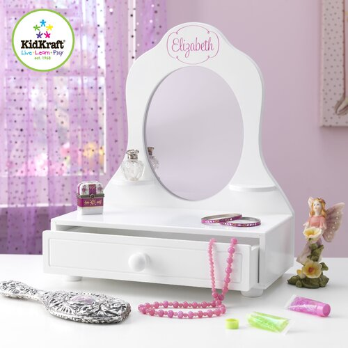 KidKraft Tabletop Vanity with Mirror