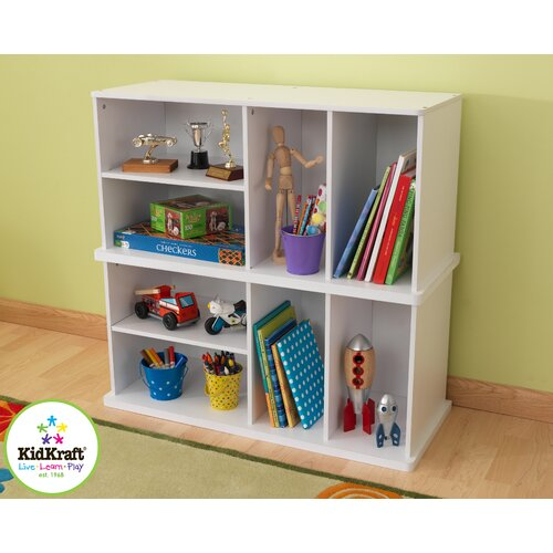 KidKraft Single Storage Unit in White