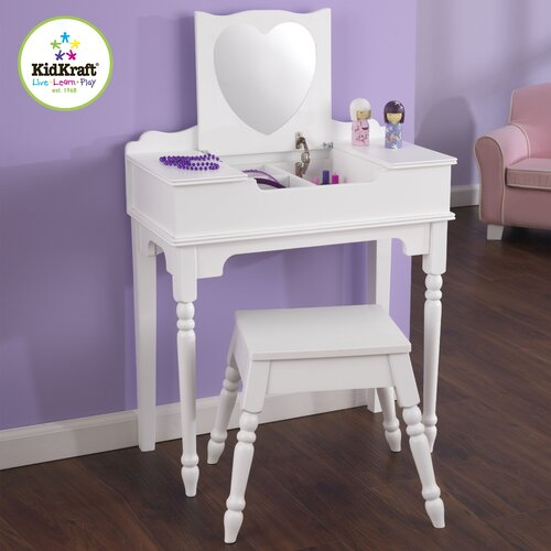 KidKraft Sweetheart Vanity Set with Mirror