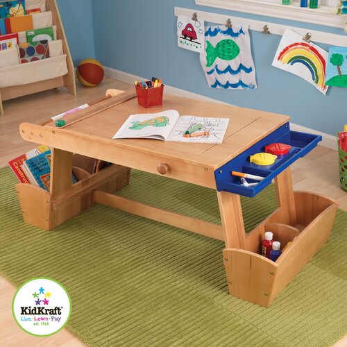 KidKraft Table with Drying Rack & Storage
