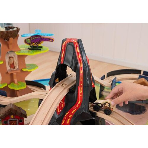 KidKraft 95 Piece Dinosaur Train Table Set
