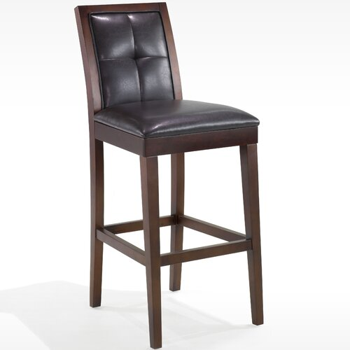 "Armen Living Urbanity Verona 30"" Bar Stool with Cushion"