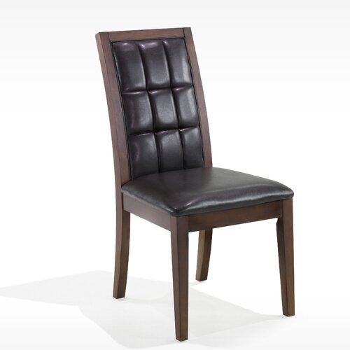 Armen Living Obliq Verona Side Chair