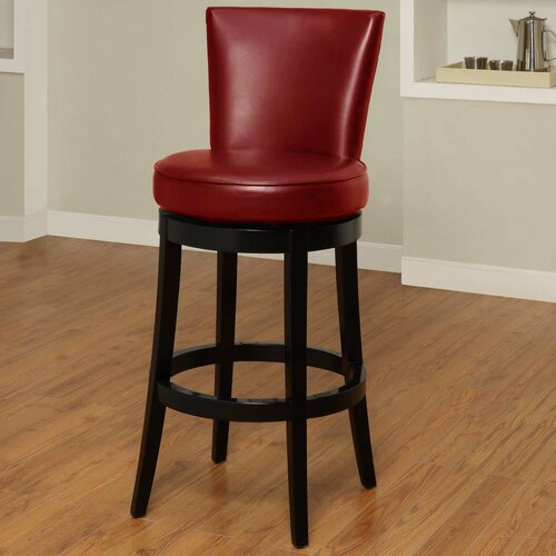 "Armen Living Boston 26"" Swivel Barstool"