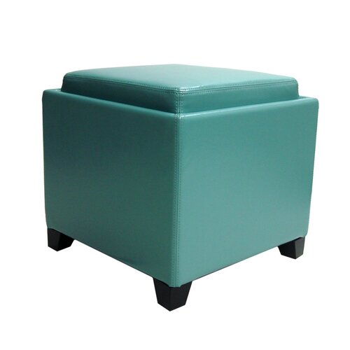 Storage Ottoman with Tray
