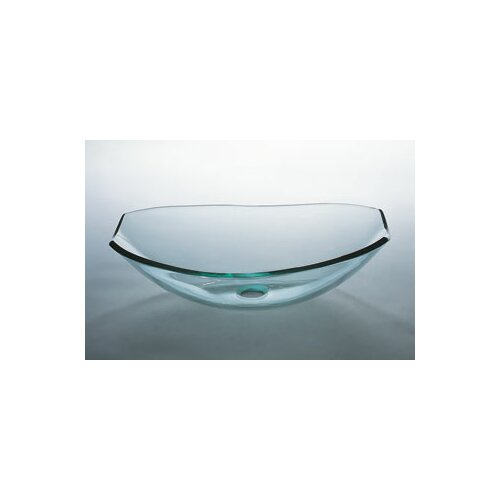 Tael Vessel Bathroom Sink with Tempered Glass