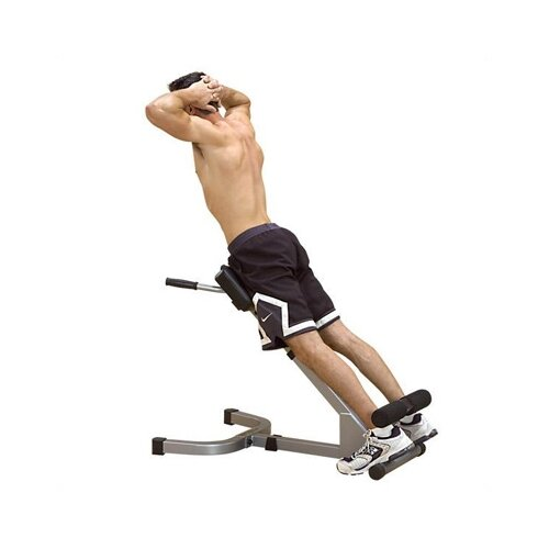 Powerline Extension Incline Hyperextension Bench